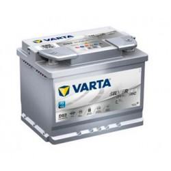 batterie démarrage silver dynamic agm d52 - 0