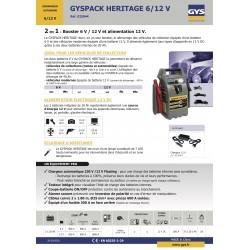 demarreur autonome gyspack heritage - 6-12v - 0