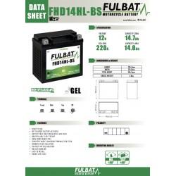 batterie moto gel fulbat fhd14hl-bs - 0