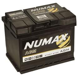 batterie agm  60 ah 680 ah cca   027agm - 0