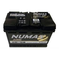 batterie agm  70 ah 760 ah cca   096agm - 0