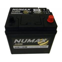 batterie agm  60 ah 520 ah cca   005lagm - 0