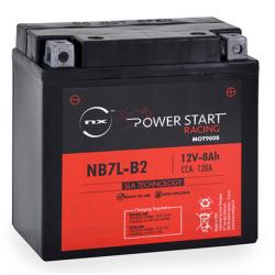 batterie moto yb7l-b2 - 12n7d-3b 12v 8ah - 0