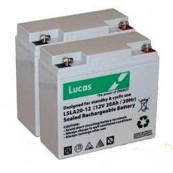 batterie lsla 20-12 12v 20 ah 180 cca - 0