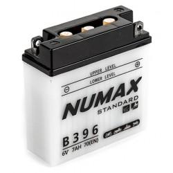 batterie moto  b39-6 6 v 7ah 70 cca - 0