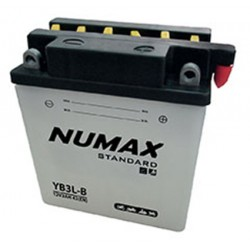 batterie moto  yb3l-b 12 v 3ah 42 cca - 0