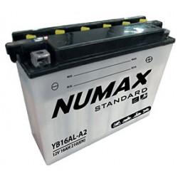 batterie moto  yb16al-a2 12 v 16ah 210 cca - 0