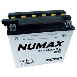 batterie moto  yb18l-a 12 v 18ah 215 cca - 0