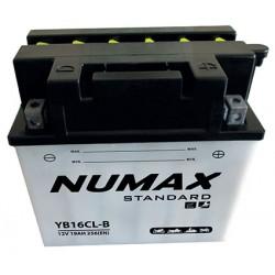 batterie moto  yb16cl-b 12 v 19ah 240 cca - 0