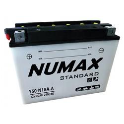 batterie moto  y50-n18l-a2 12 v 20ah 240 cca - 0