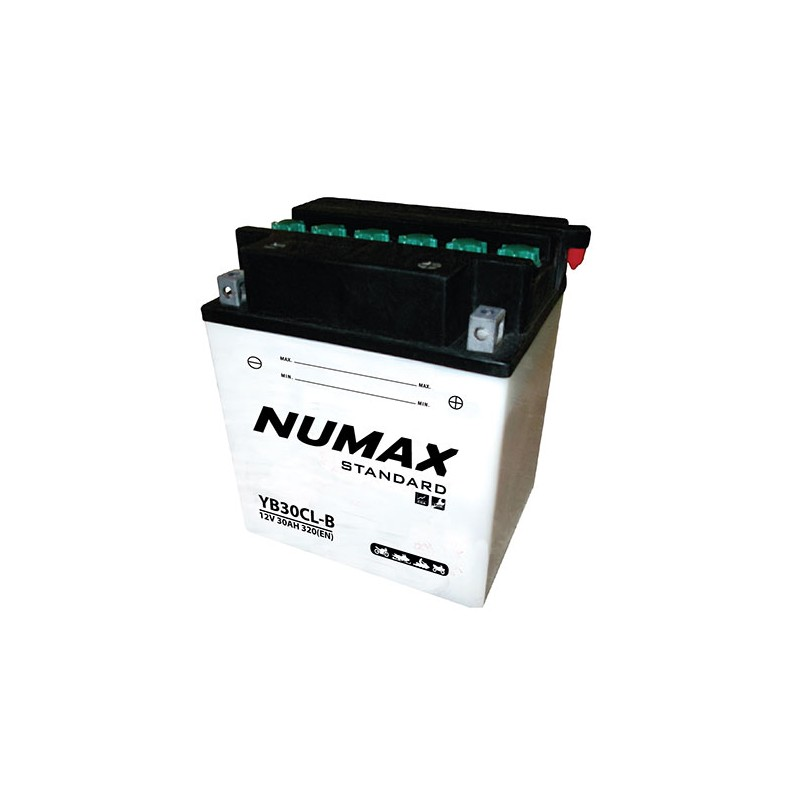 batterie moto  yb30lb 12 v 30ah 320 cca - 0