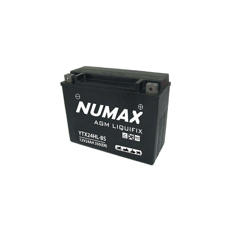 batterie moto  ytx24hl-bs numax 12 v 24ah 320 cca - 0