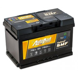 batterie  galaxy smf 75 ah 750 ah - 0