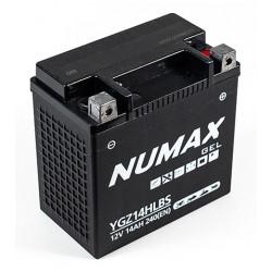 batterie harley  ygz14hl-bs  14ah 240 cca - 0