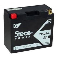 batterie moto  sla 10 ah 160 cca - yt12b-4 - 0