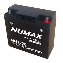 batterie démarrage nh1220 20ah 275cca gel - 0