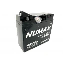 batterie  nh1220 numax vrla 20 ah 275 cca - 0