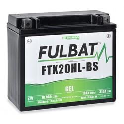 batterie moto gel ytx20hl-bs - ftx20hl-bs - 0
