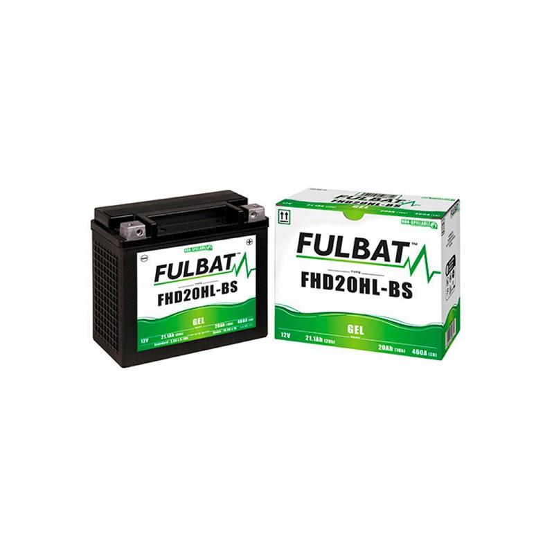 batterie moto gel fhd20hl-bs - etx20l - 0