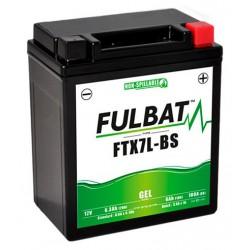 batterie moto gel ytx7l-bs   ftx7l-bs - 0