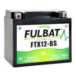 batterie moto gel ytx12-bs   ftx12-bs - 0