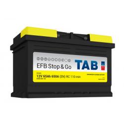tab batterie efb   ( - + ) 65ah 650a sg65 - 0