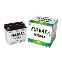 batterie moto fb16b-a1 12v 16ah 175cca - 0